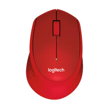 LOGITECH Mouse Wireless M331 Silent - Red