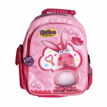 DIBO Backpack Design 2 Bunny Pink 11 Inchi