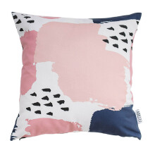 GLERRY HOME DÉCOR Navy Blush Cushion - 40x40Cm