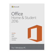 MICROSOFT Office Home and Student 2016 Win English APAC EM Medialess (79G-04679)