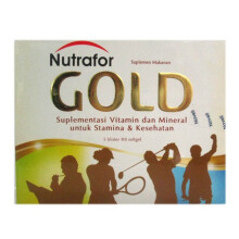 NUTRAFOR Gold New Box (40 Kaplet)