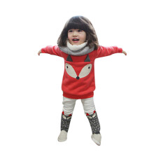 BESSKY Toddler Baby Boy Girl Fox Long Sleeve Sweatershirt Top+Pants Outfits Set Clothes_