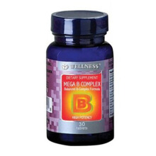 WELLNESS Mega B Complex 30 Tablets