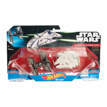 HOT WHEELS Star Wars: The Force Awakens First Order Tie Figher vs Millennium Falcon 6CGW90