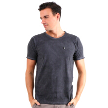 GREENLIGHT Patch Basic Tee - Grey