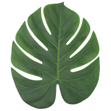 Large Artificial Tropical Palm Leaves Table Decoration Accessories