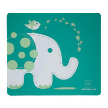 MARCUS & MARCUS Placemat - Ollie Elephant Green