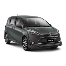 TOYOTA New Sienta 1.5 Q CVT Fromage Trim Mobil