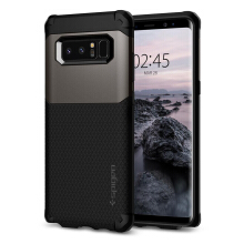 Spigen Hybrid Armor Case for Galaxy Note 8 - Gunmetal