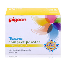 PIGEON TEENS Compact Powder Hypoallergenic Yellow 20g