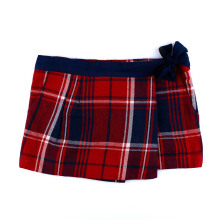 KIDDIEWEAR Skirts Pants Plaid Maroon 1ML7366
