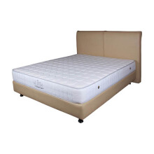 THE LUXE Mattress Reveire Titanium Complete Set - Irish White/180x200