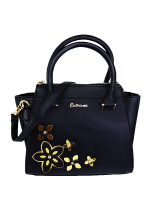 Catriona By Cocolyn Sora sling bag - BLACK