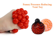 Funny Grape Vent Ball Stress Relief Squeezing Toy