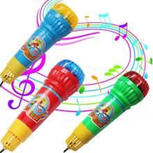 BESSKY Echo Microphone Mic Voice Changer Toy Gift Birthday Present Kids Party Song- Multicolor