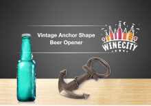 Unique Creative Vintage Anchor Shape Bottle Beer Opener Wedding Birthday Gift