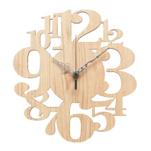 NAIL YOUR ART Numbers II Wall Clock/31x29Cm