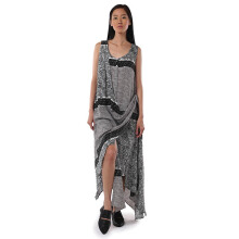 IOCO Gisela Charcoal Dress  - Black