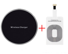 WECOOL W111 Wireless charger for IPHONE Lighting Black color