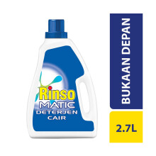 RINSO Matic Front Load Liquid Bottle 2.7l