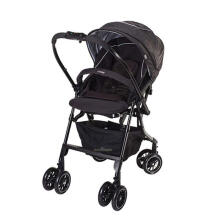 COMBI Mechacal Handy A4C Stroller - Shine Black
