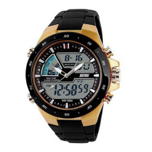 SKMEI 1016 Jam Tangan Pria Digital Analog Waterproof LED Watch Anti Air 50 M Renang - Water Resistant Watches