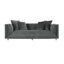 Ivaro - Sofa Major - Grey Grey big