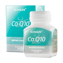 KONILIFE Co Q10 Supplemen Kesehatan (30 Caps)
