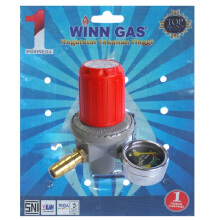 WINN GAS Regulator High Pressure Meter