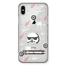 CASETOMIZE Classic Hard Case for Apple iPhone X - Chubby Stromtrooper Tsum