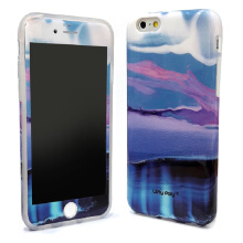 LOLYPOLY 2 in 1 Case Marble + Anti Gores for Apple Iphone 6 Plus / 6+ (010696xx01)
