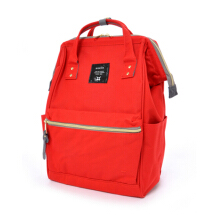 ANELLO Oxford Backpack Red