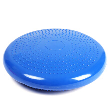 1pcs Durable Inflatable Yoga Wobble Stability Balance Disc Massage Cushion Mat