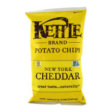 KETTLE CHIPS New York Cheddar 142g