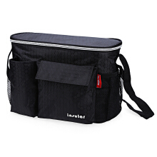 Heat Preservation Babies Diaper Bag for Stroller(Black)