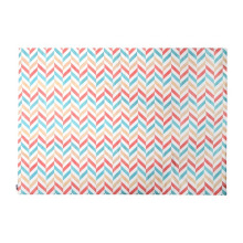 GLERRY HOME DÉCOR Pastel Herringbone Rug - 140x100Cm