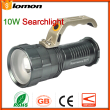 Lomon Zoomable LED Flashlight Rechargeable Handheld Searchlight 3 x 18650 Battery +Charger Spotlight Zoom Torch Fishing Camping Light
