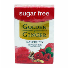 GOLDEN GINGER Flip Top Raspberry Gingerine 45g