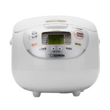 ZOJIRUSHI Rice Cooker NS-ZAQ18 WZ - White