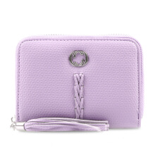 HUER Carima Small Zipper Wallet - Pink [One Size]