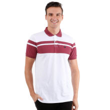 FAMO Basic Polo Shirt 0908 - White [XL]