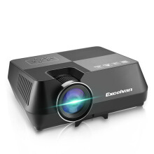 Excelvan Portable Multimedia Projector For Home Cinema Theater Black