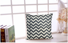Geometric Pattern Cotton Linen Pillow Cushion Cover Home Decor