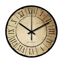 NAIL YOUR ART Papyrus Wall Clock/30x30Cm