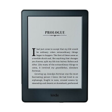 All-New Kindle E-Reader, Glare-Free Touchscreen Display, Wi-Fi - Includes Special Offers - Black
