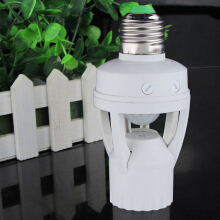 E27 LED Infrared Motion Detection Light Sensor Light Bulb Switch Home