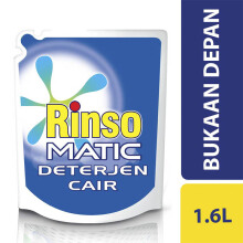RINSO Matic Front Load Liquid Pouch 1.6l