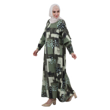 KAMI IDEA Aera Kaftan - Green