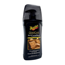 MEGUIAR'S Cairan Pembersih Gold Class Rich Leather Cleaner & Conditioner Gel G17914 [400 mL]