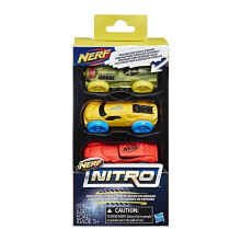 NERF Nitro Foam Car 3 Pack 5 NRRC0779